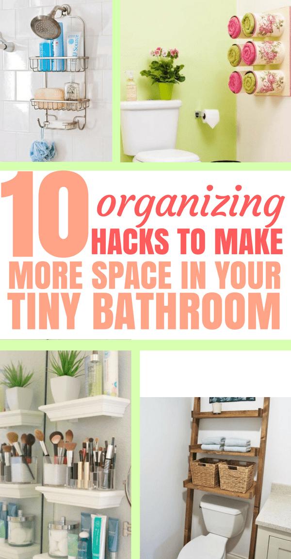 10 Amazing Organization Ideas For Tiny Bathroom Bathroom
