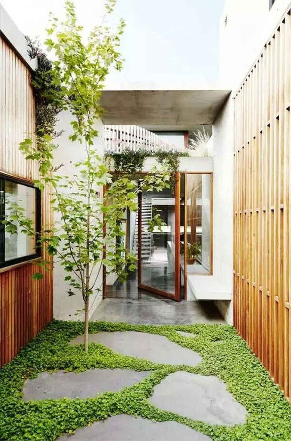 20 Inspiring Small Courtyard Garden Design Ideas   Courtyard ...