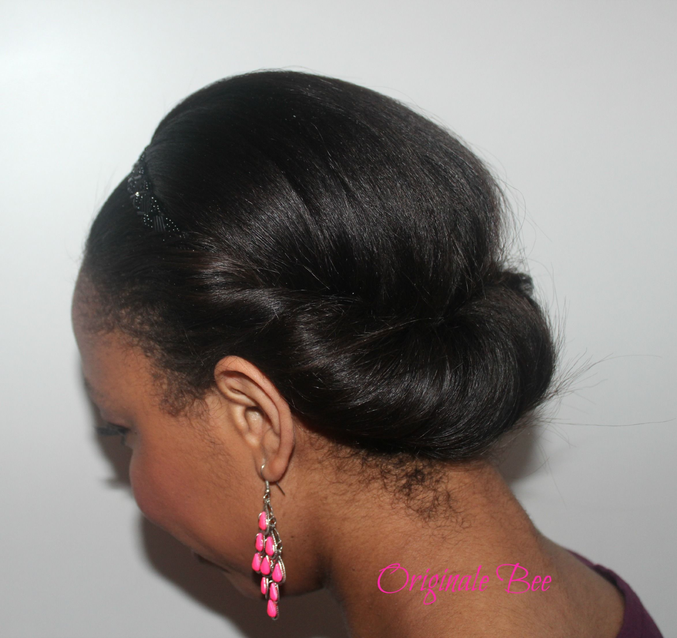 protective style for relaxed hair coiffure cheveux d 233 fris 233 s avec headband hair 9946