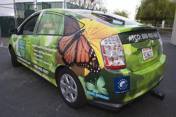 Speedpro Imaging Yelp Vehicle Signage Pest Control Prius