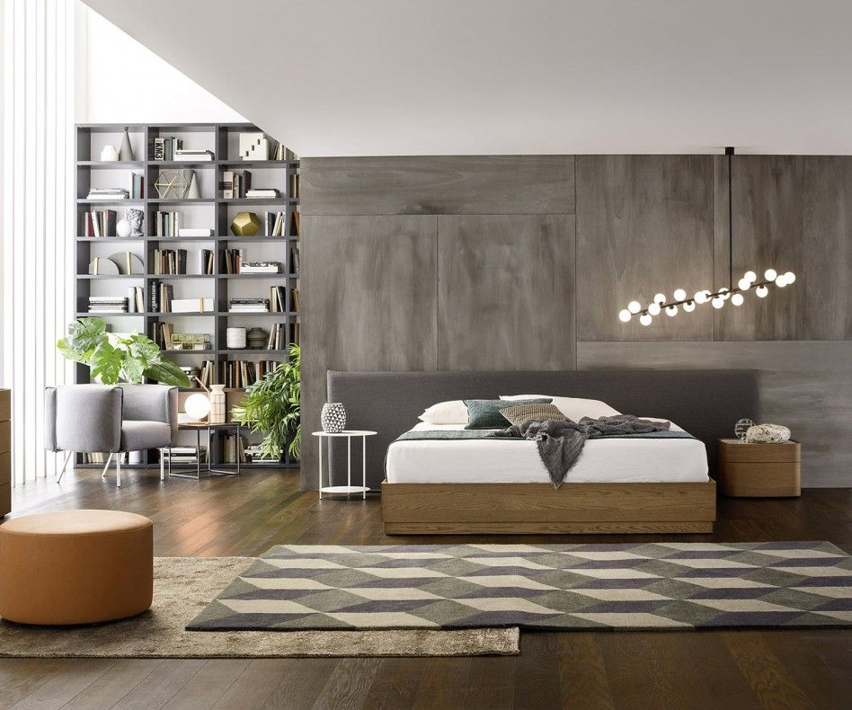 Novamobili Bett Noah Bedrooms, Modern interiors and Interiors - minimalismus schlafzimmer in weis