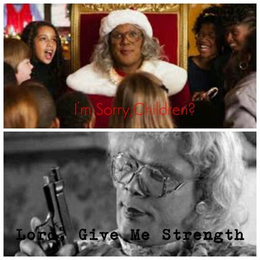 Madea don't like the idea of that 'yall