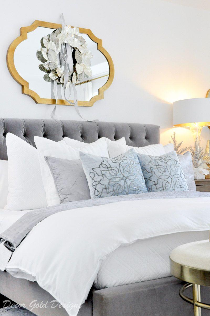 Winter White Christmas Bedrooms Luxury Bedroom Furniture