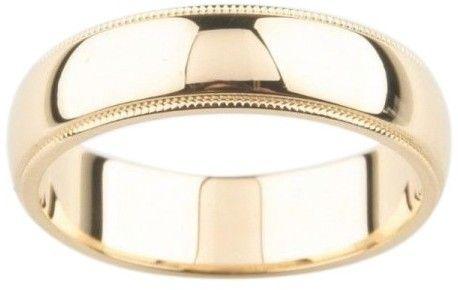 be9fc3b59 Tiffany & Co. 18K Yellow Gold Milgrain Wedding Band | Bridal ...