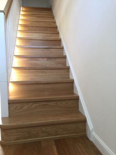 Best Details About Stairs Cladding Systems Oak Ash Beech Wood 400 x 300