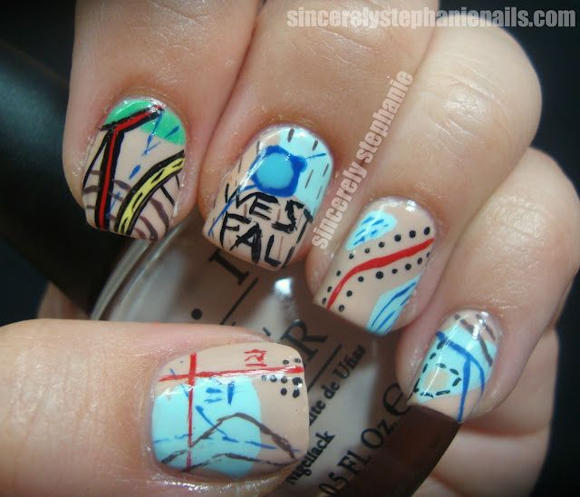 map-nail-art Sincerely Stephanie. -I LOVE the Map art nails and the ...