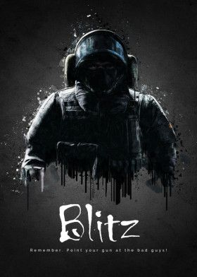 Rainbow Six Siege Blitz With Images Rainbow Six Siege Poster Rainbow Wallpaper Rainbow Six Siege Art