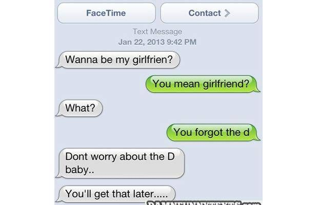 Sexy text messages to girlfriend