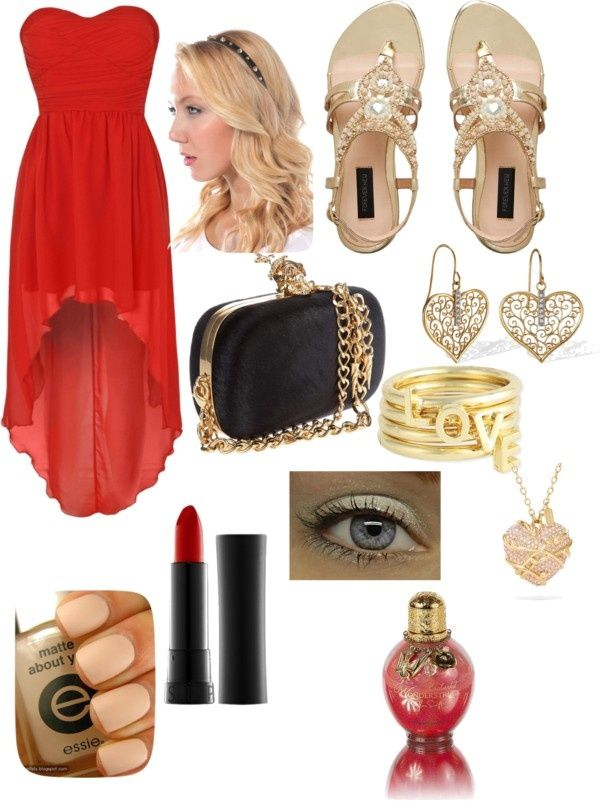Polyvore Valentine S Day Casual Red Short Long Dresses Ideas For