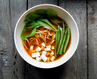 Miso supa sa rezancima za 15 minuta / 15 minute miso noodle soup