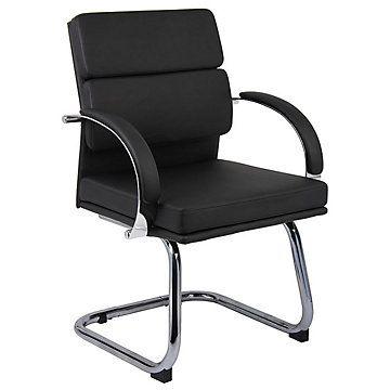 Chrome Frame Guest Chair B9409 Office