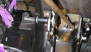 Details about Polaris RZR Under Seat Block Off Kit Stops