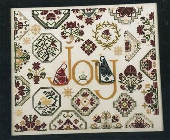 AuryTm Joy - Cross Stitch Pattern - 123Stitch com | Cross Stitch