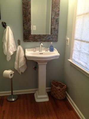 Shop Barclay Stanford 35 5 In H White Vitreous China Pedestal Sink