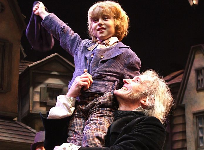 A Christmas Carol at Playhouse in the Park.