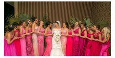 Os tipos de rosa que deixarão as suas madrinhas lindas | OMC