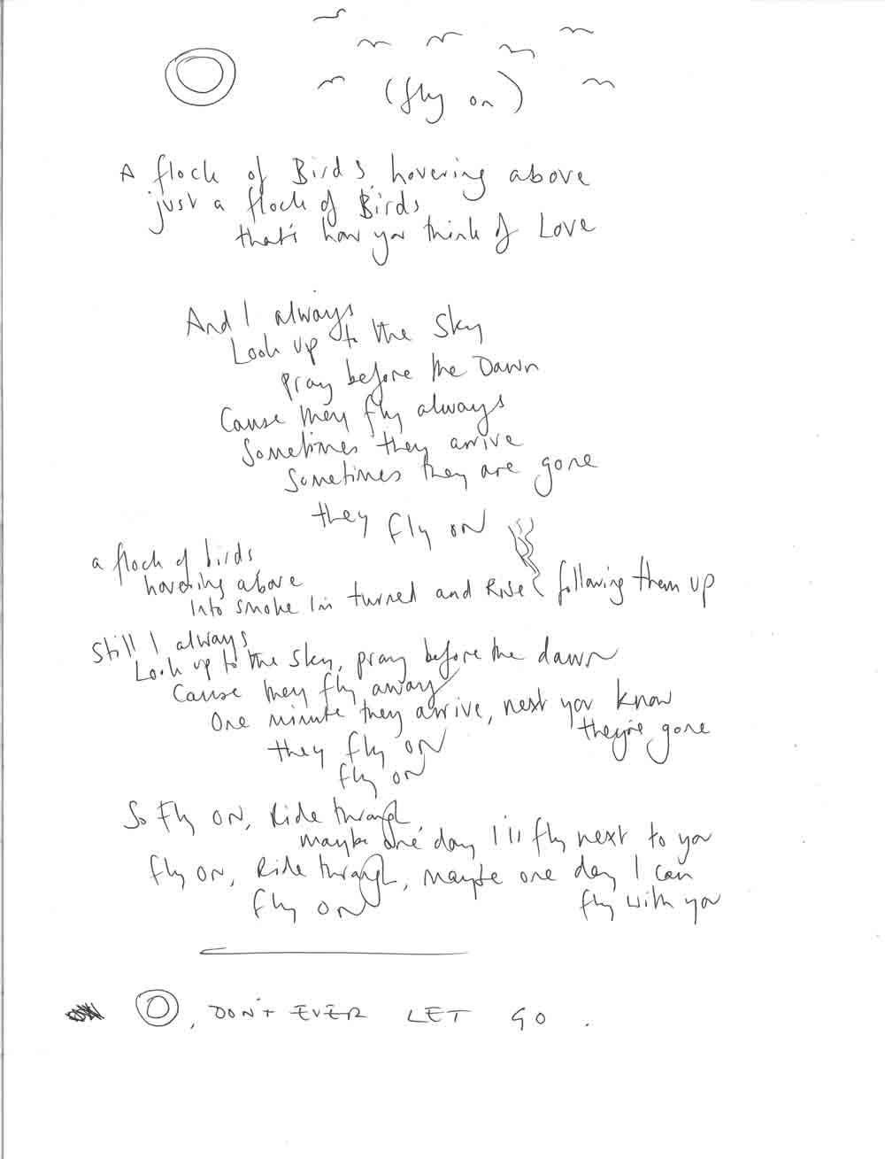 O Fly On Coldplay Sheet Music 'O'... My favourite so...