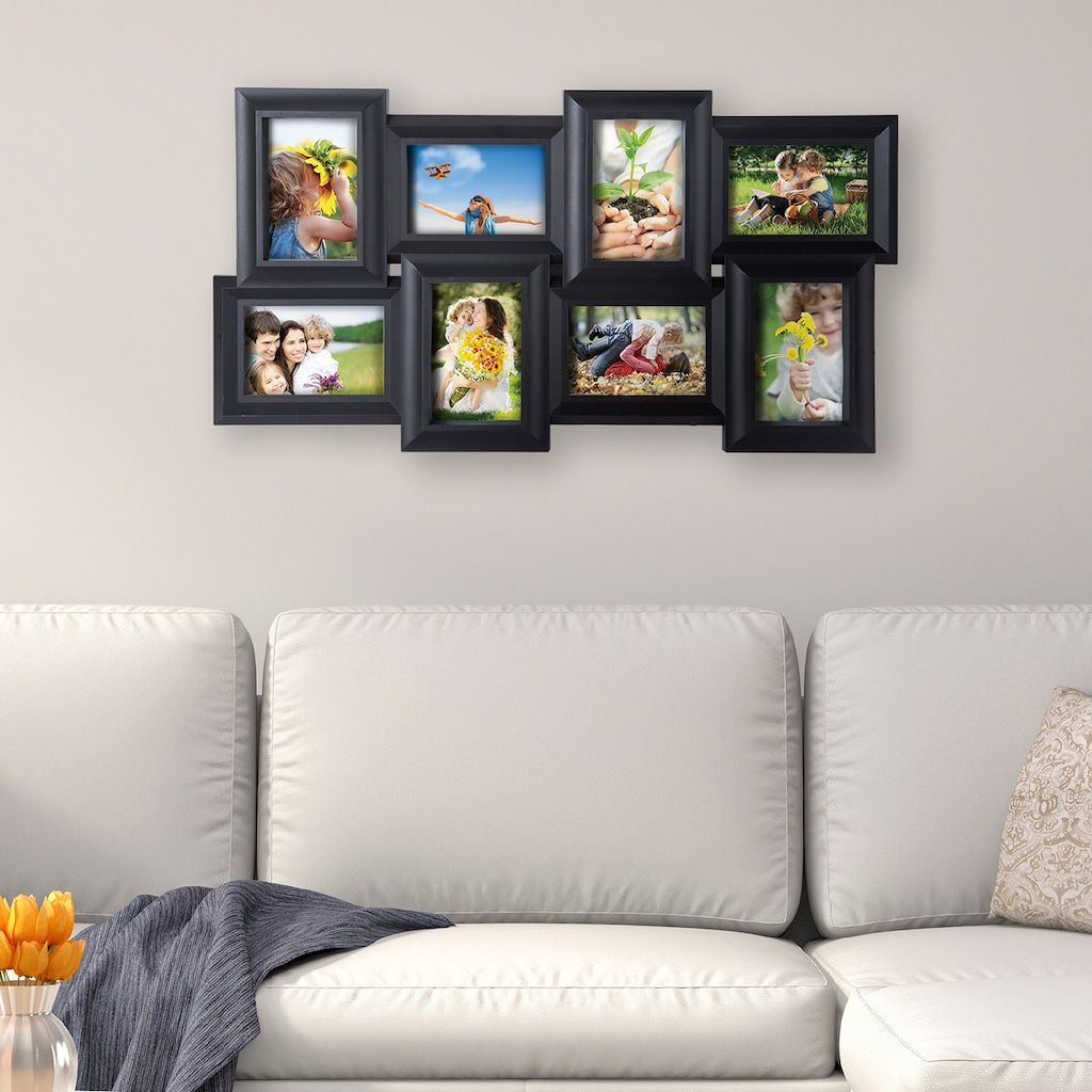 Melannco 8 Opening 4 X 6 Collage Frame Collage Frames Frame