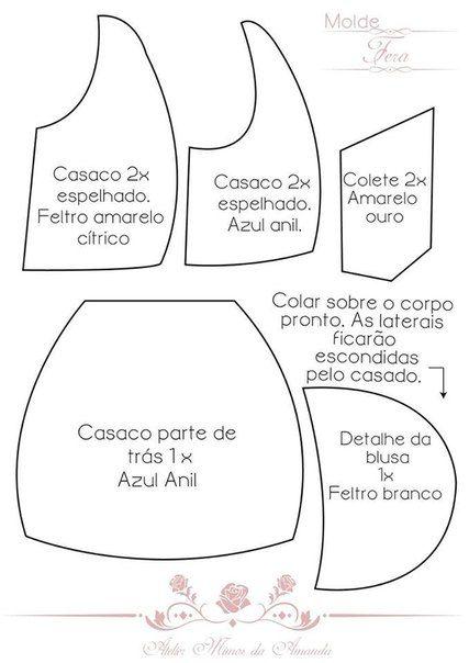 Fetroklub Idei Fetr Izdeliya Com Imagens Padroes De Boneca