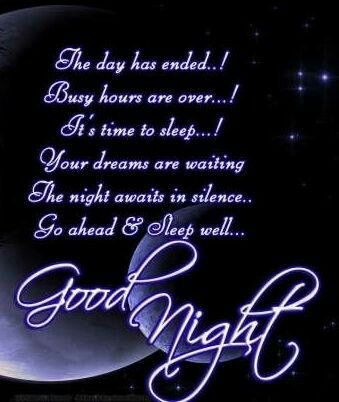Image result for good night busy day time to sleep
