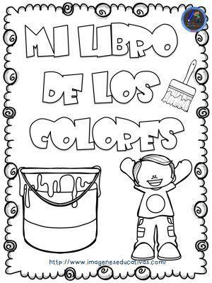 Mi libro de los colores para colorear | Mis herramientas | Pinterest ...