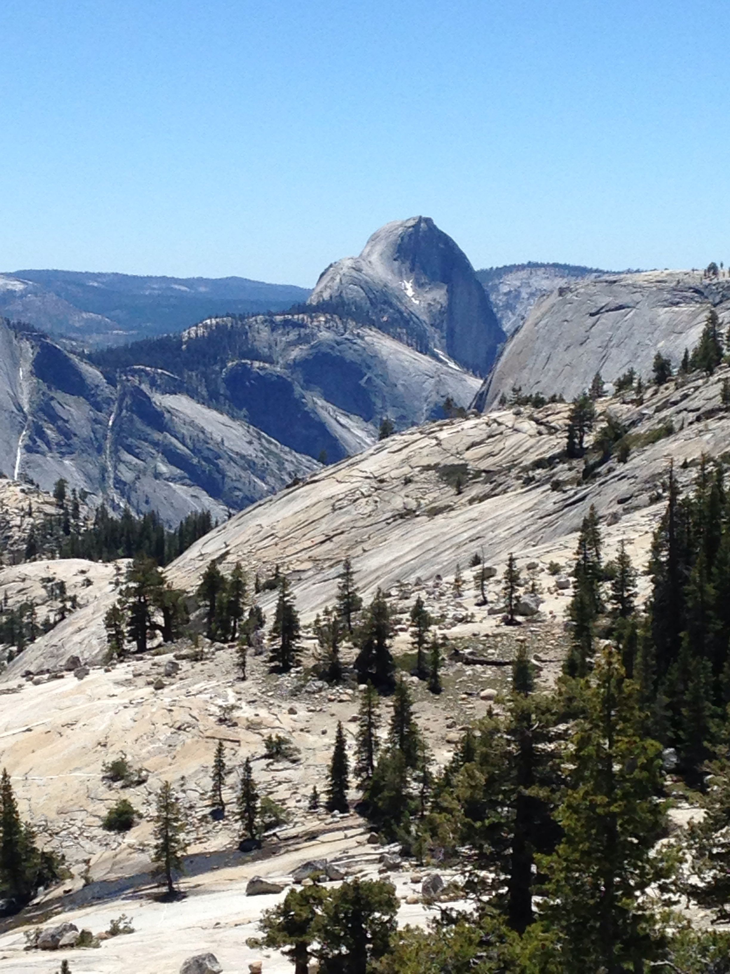 Half Dome from Olmsted Point, Tioga Pass, California