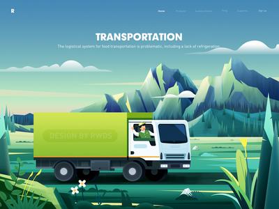 Transportation by Rwds on Dribbble