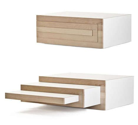Perfect An Expandable Coffee Table By Reinier De Jong : Rex
