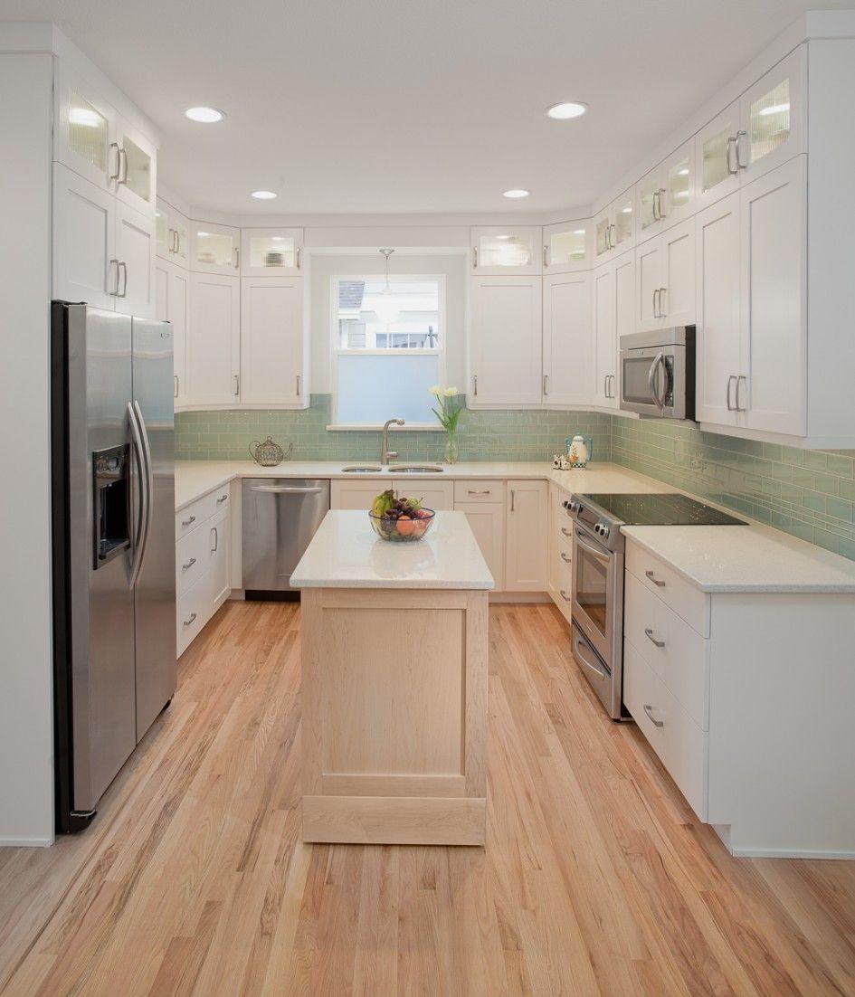 Light Birch Kitchen Cabinets: Enchanting Design For Kitchen Appliance Trend Decorating