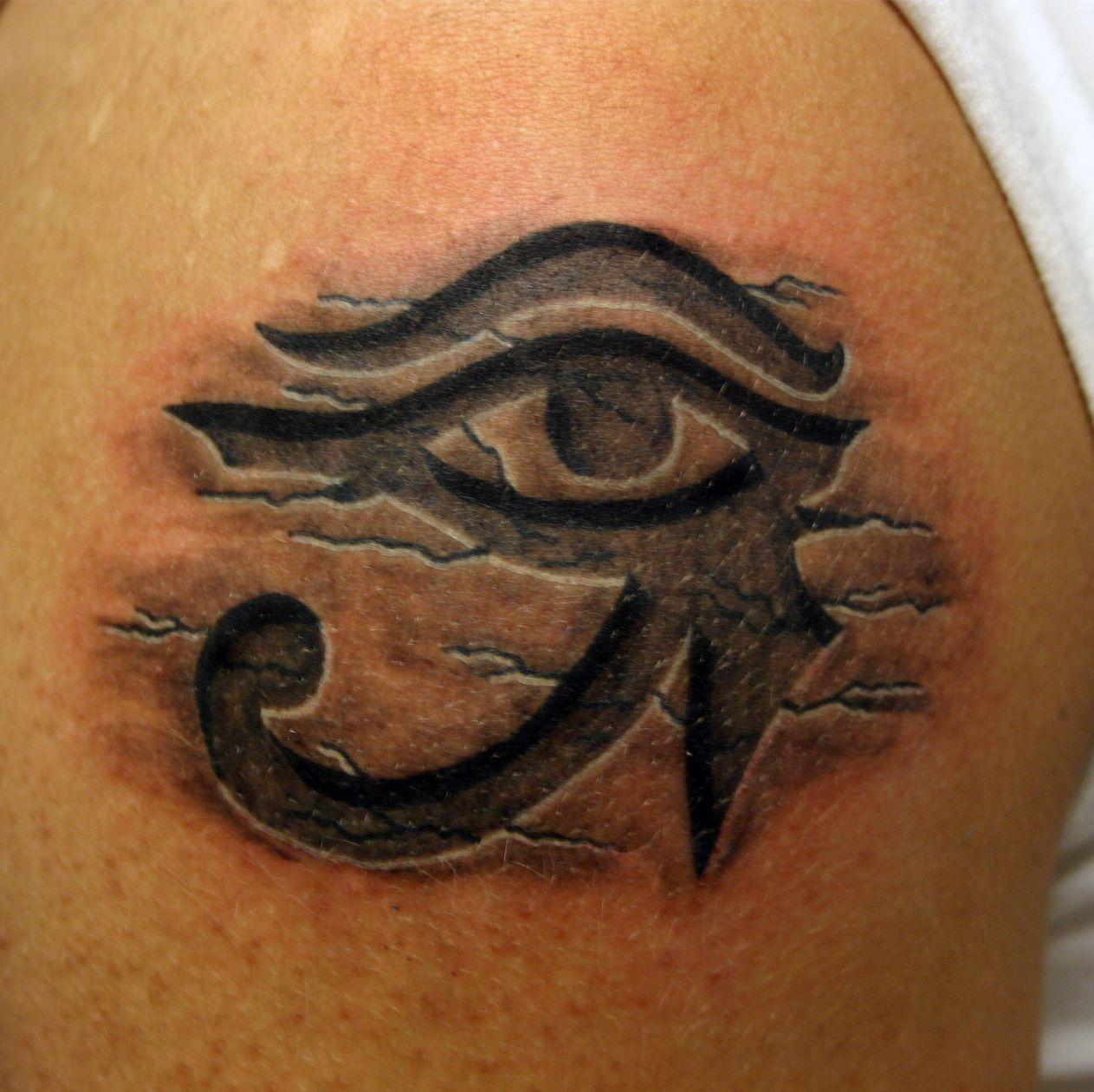 eye of Ra horus tattoo … Egyptian eye tattoos, Eye of ra