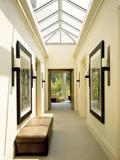 Peaked skylight corridor Castle ideas Pinterest Skylight and - wohnideen small corridor