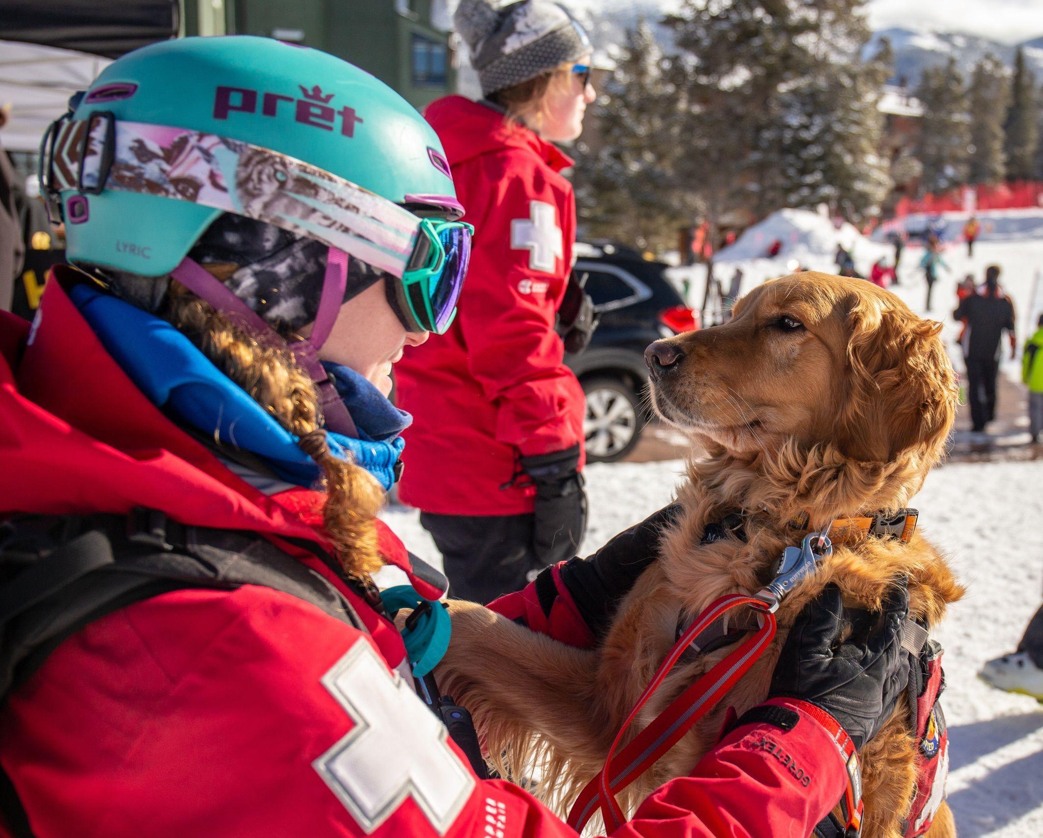 Ski Patrol Copper Mountain Colorado Safety Emt Medic Skiing
