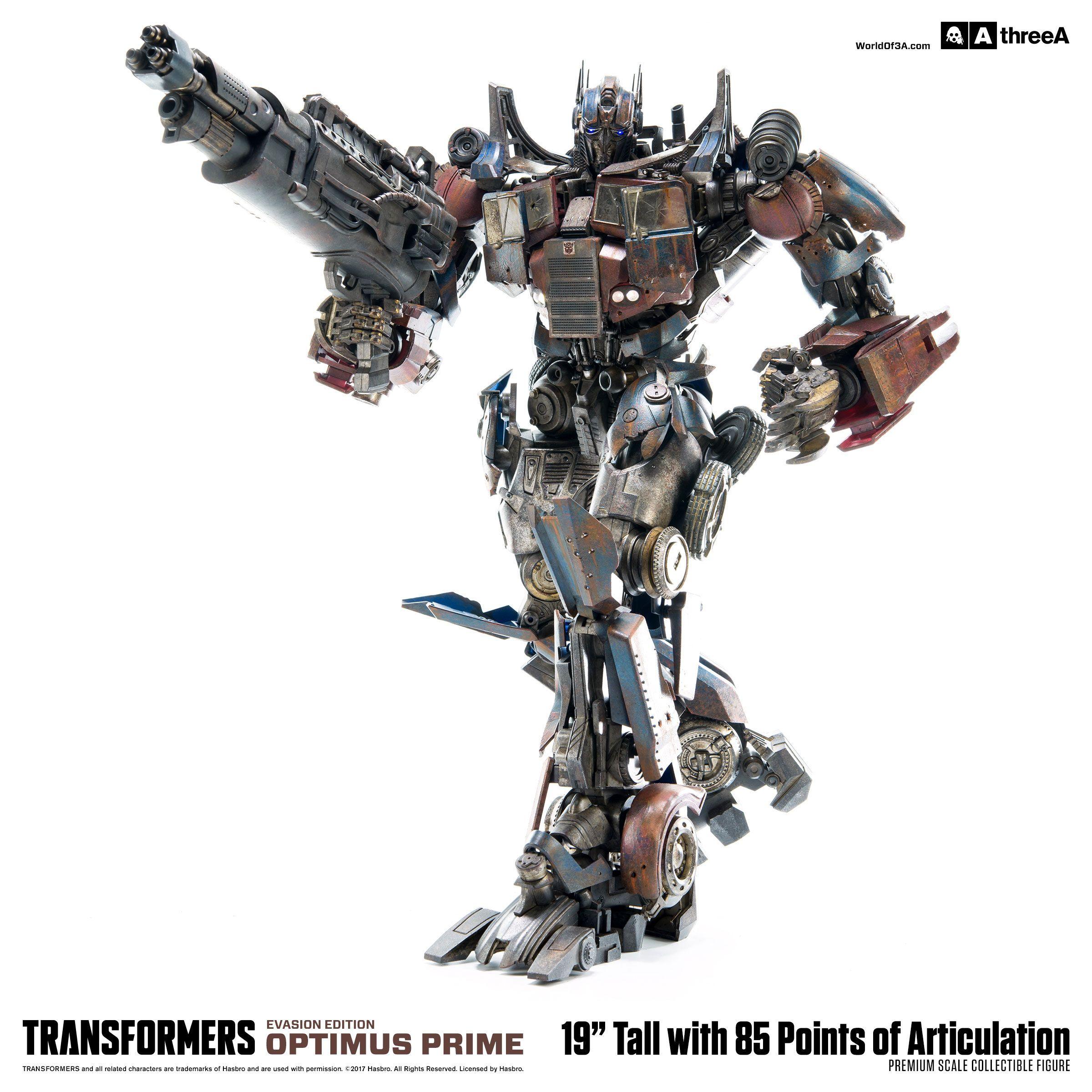 Transformers age of extinction optimus prime evasion edition premium scale action figure
