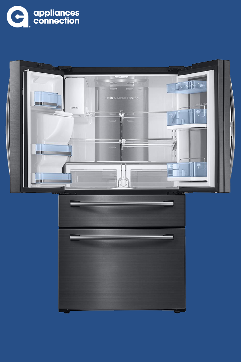 Samsung Black Stainless Steel Series 36 Inch Freestanding French