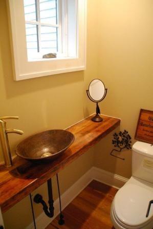 Small Half Bath By Althea Small Half Bathrooms Small Half Baths