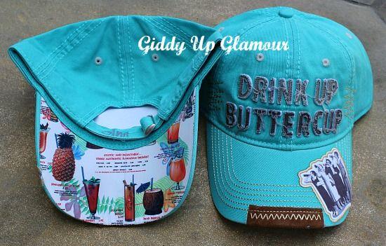 aa487da7e4b0d8 Drink Up Buttercup Cap | $36.95 | www.gugonline.com | Giddy Up ...