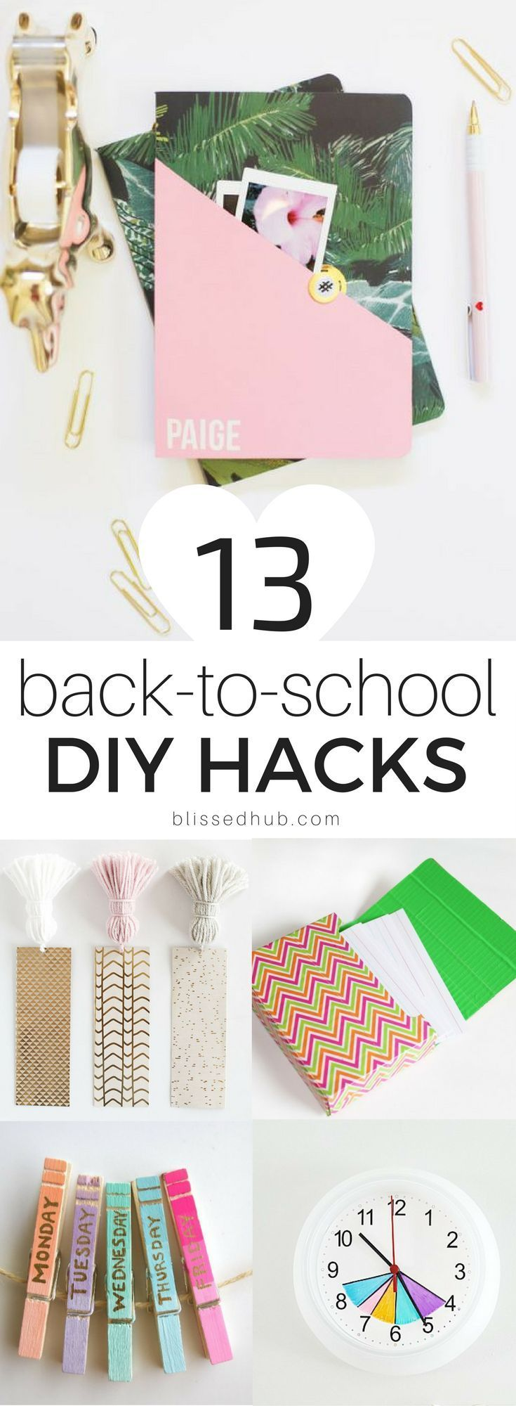 13 DIY backtoschool hacks you need to try Informations About 13 DIY BackToSchoolHacks die Sie ausprobieren müssen Pin You can easily use my profile to examine differ...