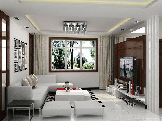 50 Desain Interior Ruang Tamu Minimalis, Modern, dan Klasik Warna ...