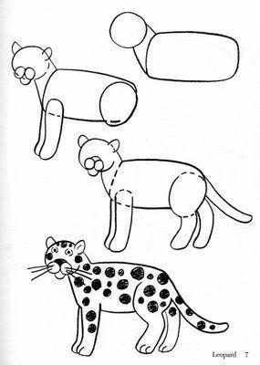 Jaguar Animal Drawings Pencil Drawings For Beginners Leopard
