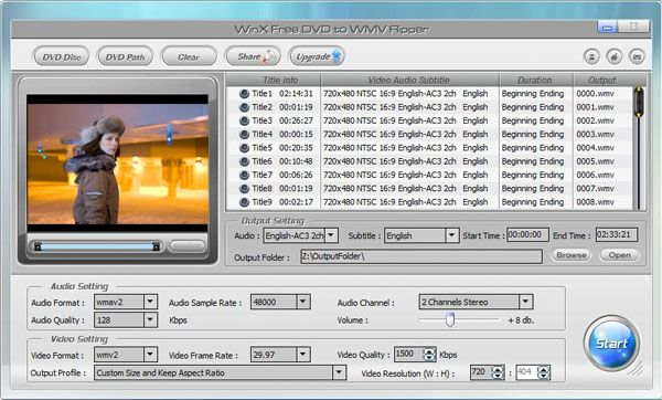 free software to convert dvd to wmv