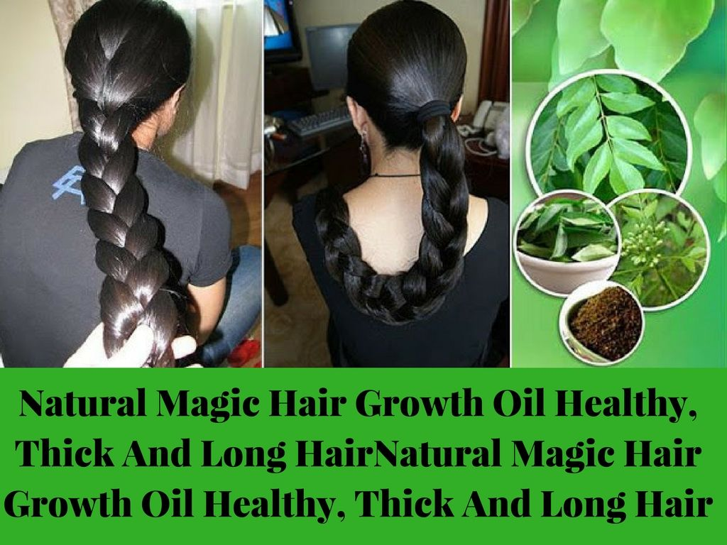 Natural Magic Hair Growth Oil Healthy Thick And Long