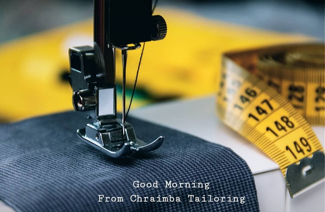 Good Morning From Chraimba Tailoring Uniform Company Restaurant Factory Purple Pink Hotel Labour Ni In 2020 Sewing Machine Tooled Leather Bag Tool Bag