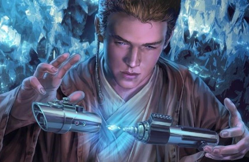 Anakin Skywalker Lightsaber by Chris Trevas