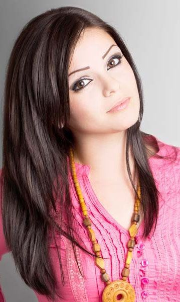 Cute Long Thick Layered Hairstyles For Straight Hair Women With
