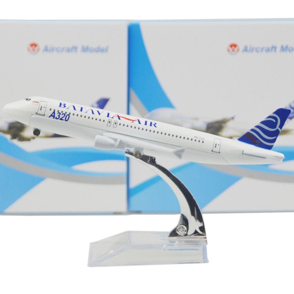Batavia air airbus cm model airplane kits child birthday gift