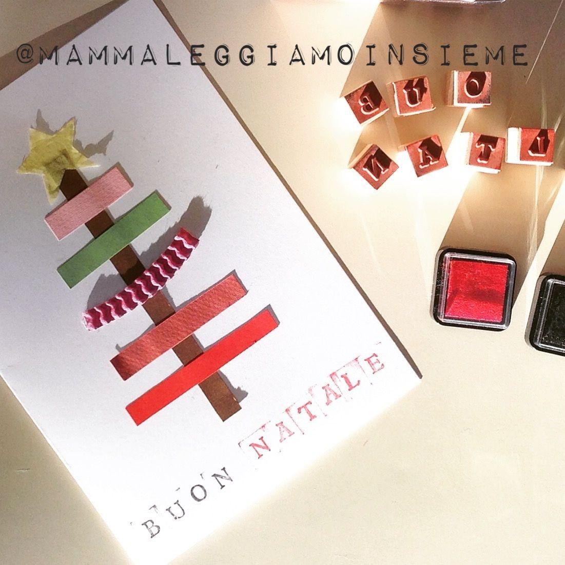 Biglietti Di Natale Semplici Per Bambini.Biglietti Di Natale Fatti A Mano Semplici Adatti Anche Da Fare A