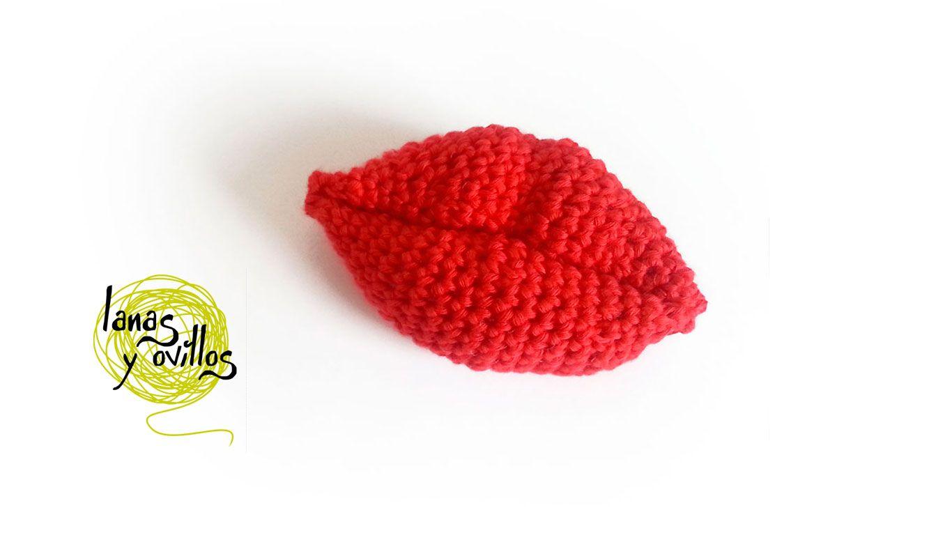 Video Tutorial LABIO SUPERIOR | crochet | Pinterest | Crochet ...