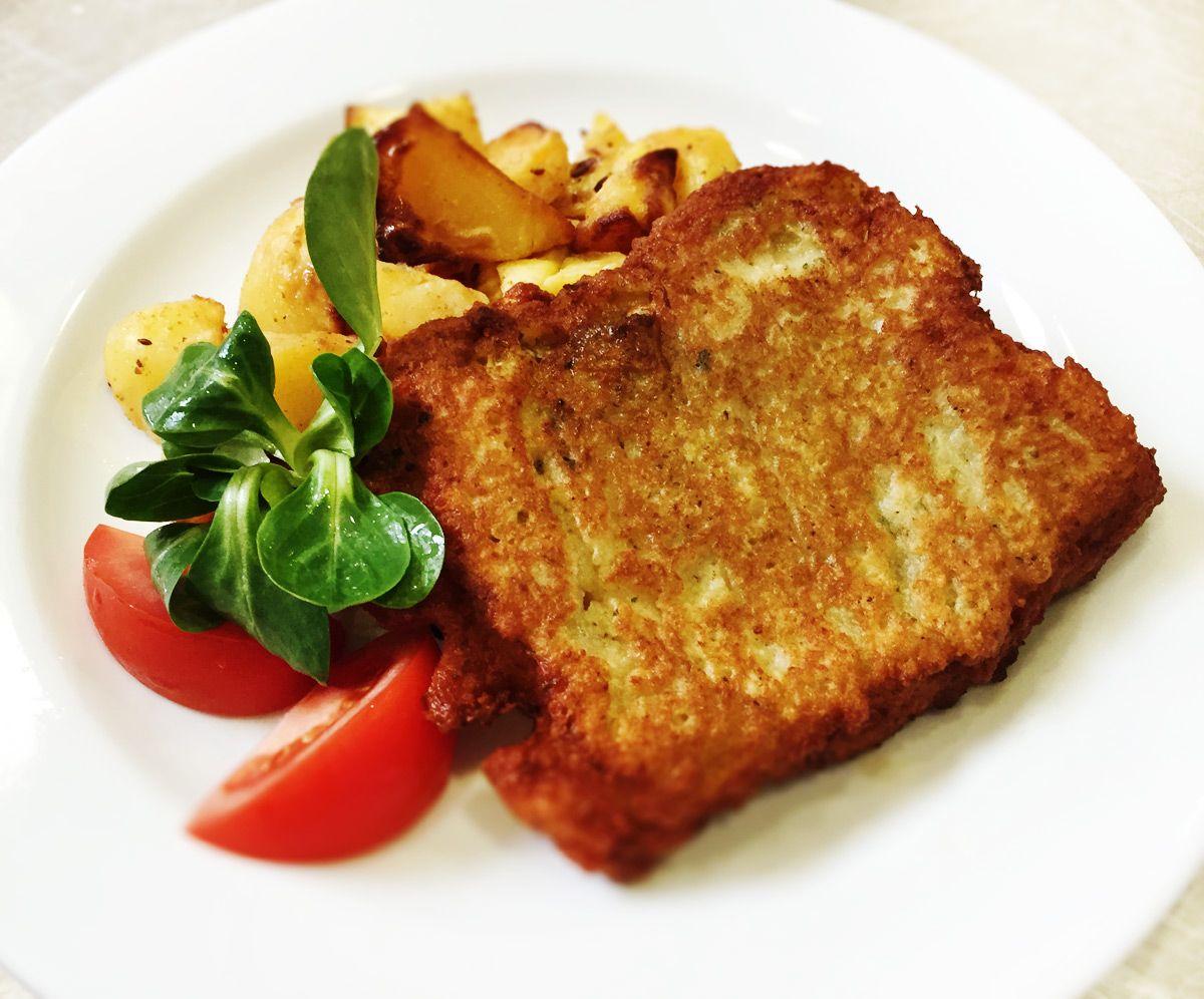 Denné menu Vranov | Rybie filé v zemiakovom cestíčku, opekané zemiaky - reštaurácia Hotel Patriot*** #hotel #restaurant