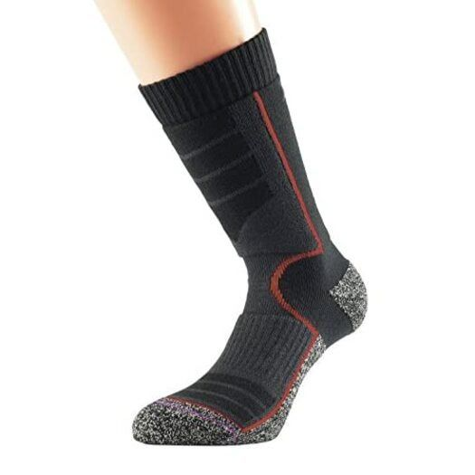 1000 Mile Women's Ultra Performance Walking Sock with Cupron - Black/Orange, Size 6-8.5 Product Name: 1000 Mile Women's Ultra Performance Walking Sock with Cupron - Black/Orange, Size 6-8.5New - ships from United Kingdom via trackable airmail, delivered by Australia Post, due to current events allow 3-5 weeks for delivery. You will have tracking and can follow that.Manufacturer: 1000 Mile. EAN: 5031358005961.Packaged dimensions (LxWxH): 8.20 x 3.70 x 1.80 (inches).