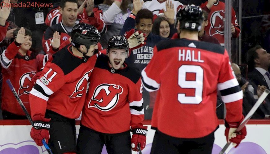 Brian Boyle scored one of the most meaningful goals of his career to help  the New Jersey Devils beat the Vancouver Canucks on Friday night. 01d55ac6d